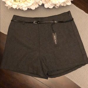 NWT Forever 21 Gray Shorts Size 10